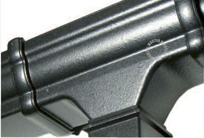 Niagara 112mm Cast Iron Effect Guttering