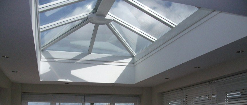 Made to Measure uPVC Glass Skylight - Internal