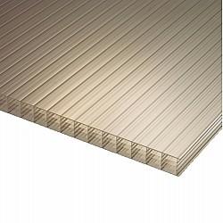 Polycarbonate Sheet - Bronze - Multi-Wall / Five Wall - 35mm X 700mm X 2500mm