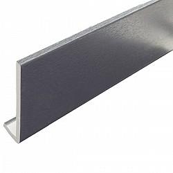 10mm x 150mm x 5m Grey Fascia Board Grained