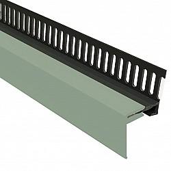 Sage Green 25mm 2-Part Multi Vent Starter / Cover Trim - 3 Metre