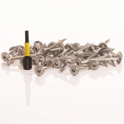 Cladding Screw Fixings 3.5mm X 30mm Stainless