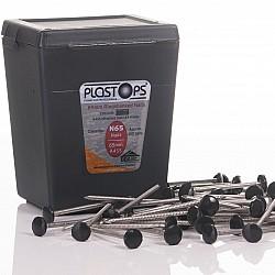 Black Fascia Nails 50mm - 100 Pieces