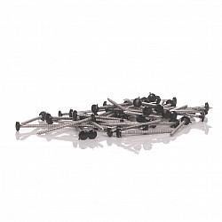 40mm Black Fascia Pins