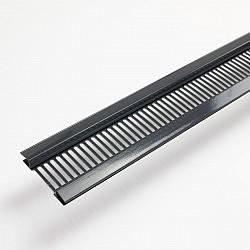 Soffit Ventilator for Hollow Soffit - Dark Grey
