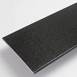 Black Ash 10mm x 100mm Soffit Board in 2.5 metre Length