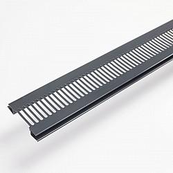 Storm Grey - Soffit Ventilator For Hollow Soffit - RAL 7045