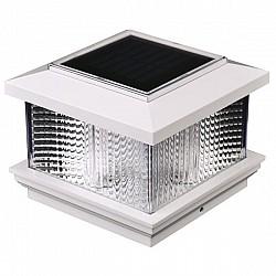 Solar Powered Plastic Post Cap Caravan Light