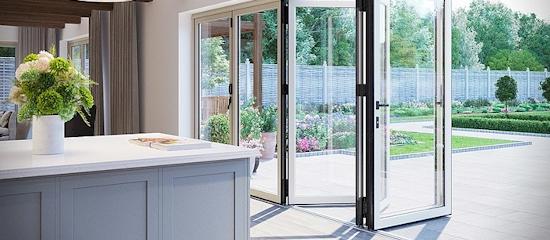 Aluminium Bi-Fold Doors or French Doors