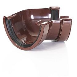 Brown Deep 135º Gutter Angle 115mm
