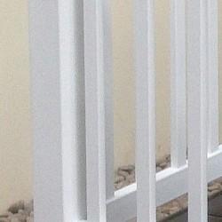 36 inch Balustrade Corner Post in White