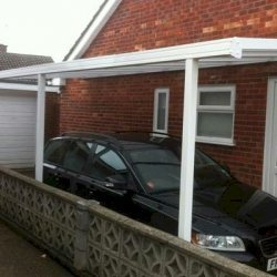 2100mm  PROJECTION EVOLUTION ALUMINIUM CARPORT SYSTEM