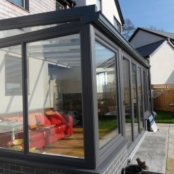 Lean To Conservatory 3 metre Wide by 3 metre Projection