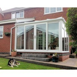 DIY Lean To 3m x 3m Conservatory- Full height panels  - Best price online !