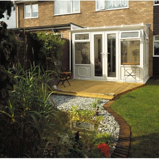 Lean To Conservatory 3.5m x 10m