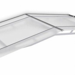 Pro Pitched Door Canopy 1900 x 910 Frosted White Acrylic
