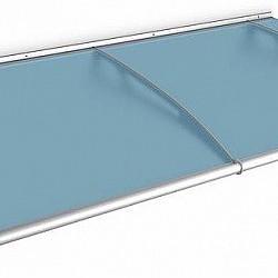 1.9m Blue  Door Canopy