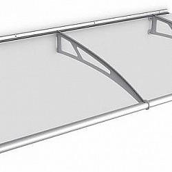 1.9m Clear Door Canopy