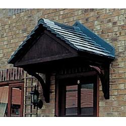 The Carisbrooke GRP Over Door Canopy