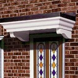 Door Canopy The Warrick GRP