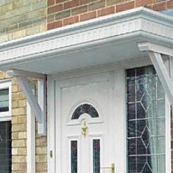 Door Canopy The Castledene GRP