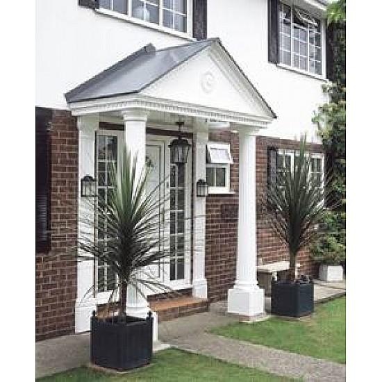 Victorian Portico Porch Canopy