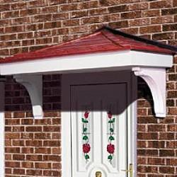 The Suffolk GRP Over Door Canopy