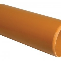 Pipe 110mm 3m Plain Pipe - D043