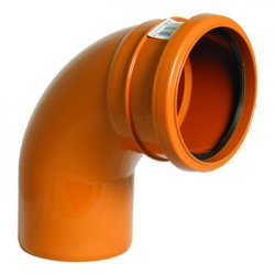 110mm Pipe Single Socket Bend 87.5° - D161