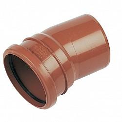110mm Pipe Single Socket Bend 15° - D167