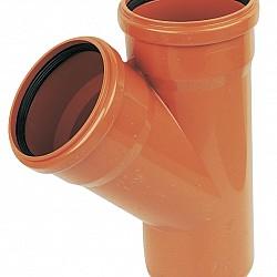 110mm Pipe 45° Y- Junction - D210