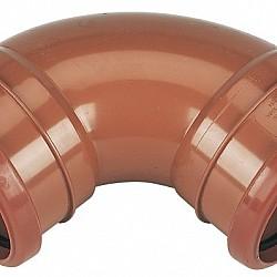 110mm Double Socket Bend 87.5° - D561