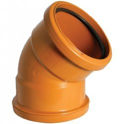 110mm Double Socket Bends 45° -D563