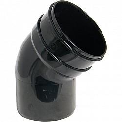 Black Soil Pipe 135º Offset Bend - Bottom  (SP435B)