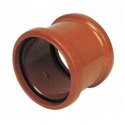 160mm Underground Pipe Coupling Double Socket - 6D105