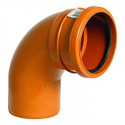 160mm Under Ground Pipe 87.5° Bend Skt/Spig (6D161)