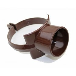 110mm Brown Soil Pipe Strap On Boss - SG40BR