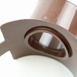 110mm Brown Soil Pipe Strap On Boss - SG40BR