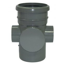 110mm Soil Pipe Grey Access Pipe SP274G