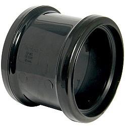 Black Soil Pipe Double Socket Pipe Coupling