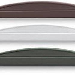 PVCu Plastic Convex Max 300mm High Decorative Gravel Boards
