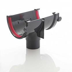 Black 115 mm Deep Flow Gutter Brackets
