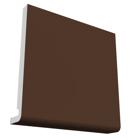 18mm x 175mm Magnum Square Leg / Reveal Liner Fascia - Leather Brown