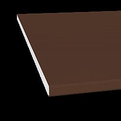 10mm x 150mm General Purpose Board / Flat Board / Fascia - Leather Brown