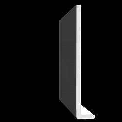 Black 10mm x 200mm Square Leg / Reveal Liner Fascia - Black