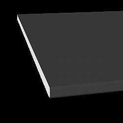 10mm x 150mm General Purpose Board / Flat Board / Fascia - Black