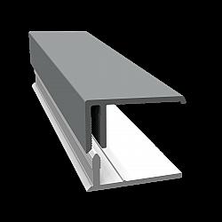 Sage Green 2-Part Edge Cladding Trim - 3 Metre