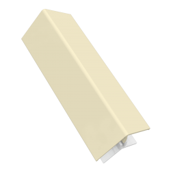 Pale Gold 2-Part External Corner Trim - 3 Metre