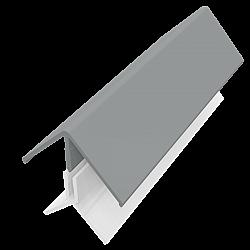 Storm Grey 2-Part External Corner Trim - 3 Metre