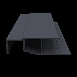 3 Metre - Multi-Function Profile - Slate Grey